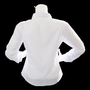 beyaz kadın gömlek arka
